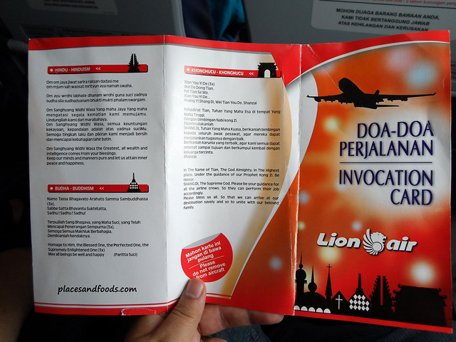 lion air invocation card