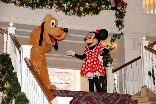 Pluto & Minnie Mouse