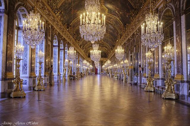 Ch 226 Teau De Versailles Galerie Des Glaces Flickr
