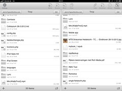 AirFile - dropbox client voor iOS