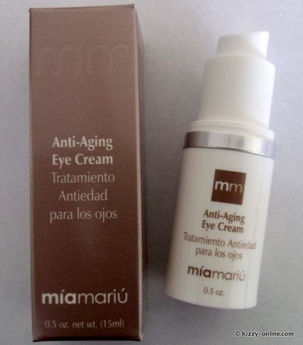 Mía Mariú Anti-Aging Eye Treatment Cream Review