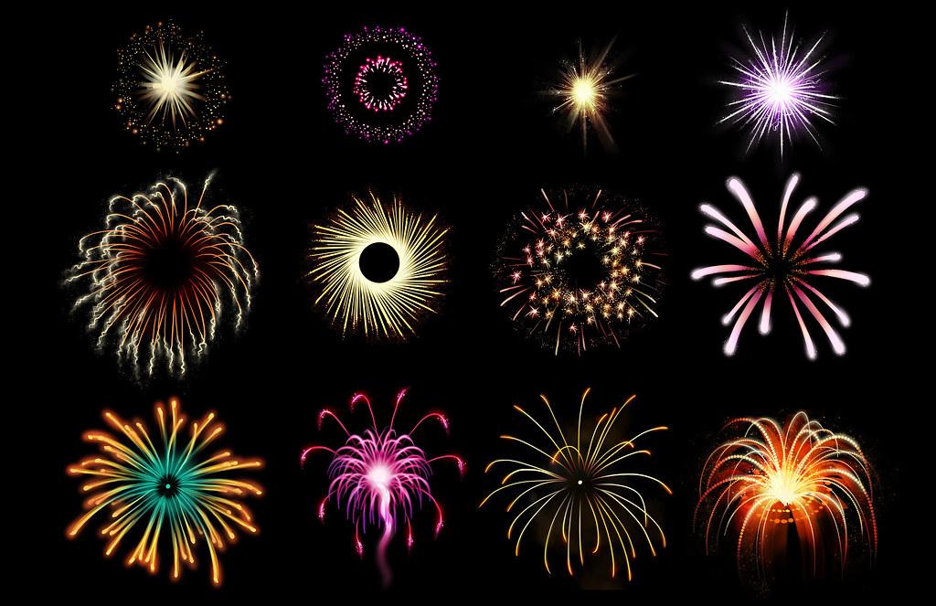 fireworks studies I did a How To Draw Fireworks