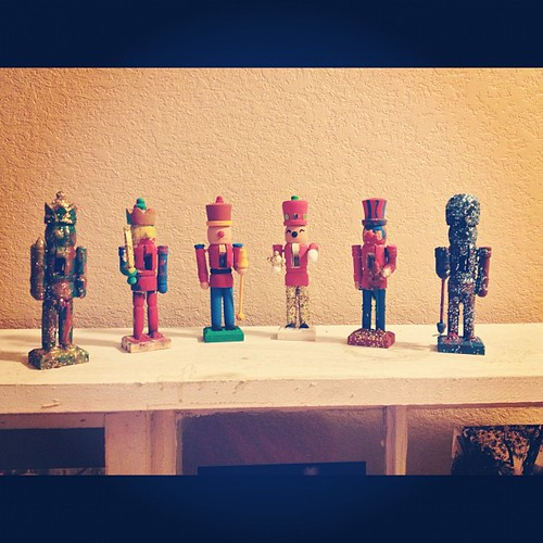 Family nutcrackers.