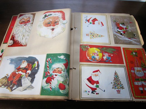 Vintage Christmas Cards Scrapbook 1 / 5