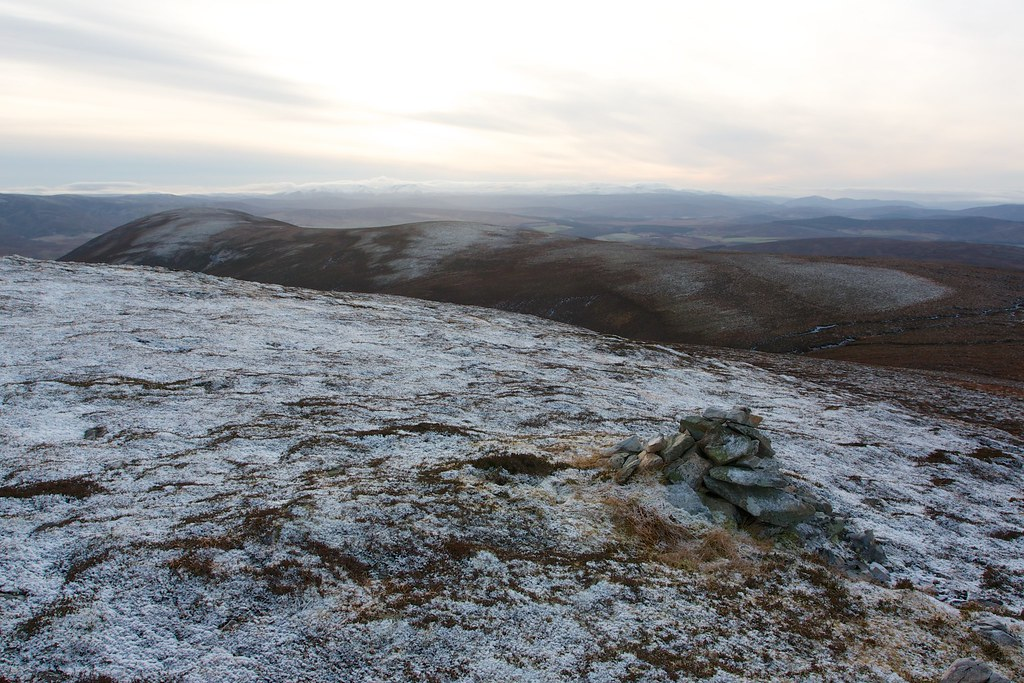 The Carn an t-Suidhe Ridge
