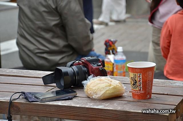 江ノ島駅前カフェ:Street cafe Reto