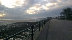 Liverpool from Vale Park Promenade Gates: Copyright 30th November, 2012 Kevin & Jane Moor