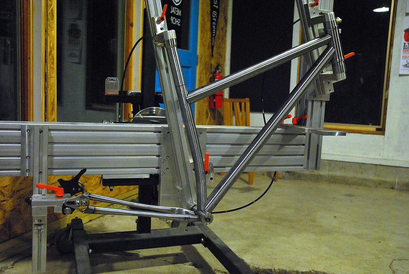 Patrick's 29er Taking Shape