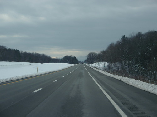 81 South, with snow
