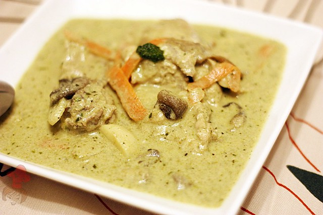 泰式綠咖哩 Thai Green Curry 1