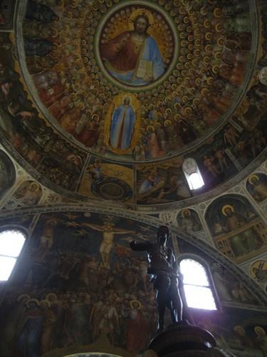 DSCN1012 _ Frescoes by Giusto de Menabuoni, Battistero, Padova, 12 October