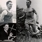 "Rev Gilbert Lothair ""Gil"" Dodds, World Record distance runner ""The Flying Parson"""