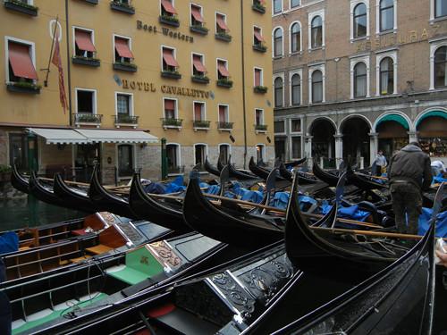 DSCN1326 _ Gondolas, Agenzia Gondolieri Travel Bacino Orseolo, 13 October