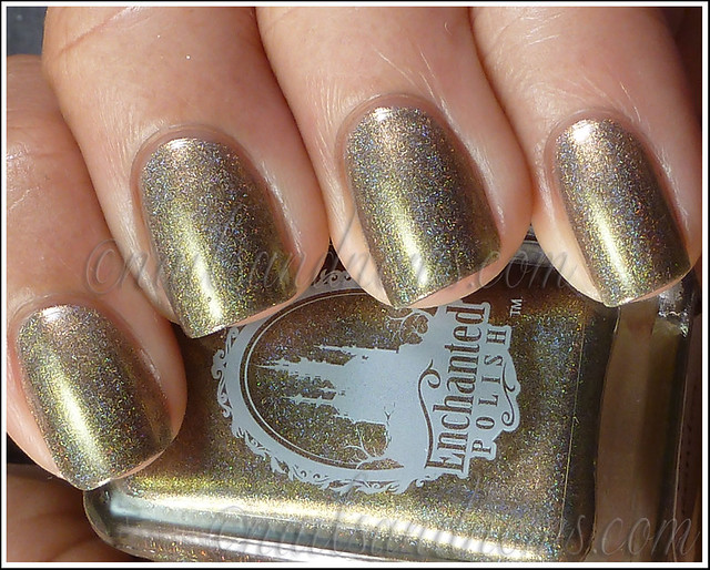 Enchanted Polish Ho Ho Holoday - Olive The Other Reindeer 1