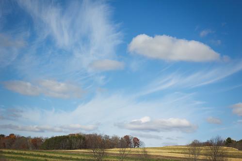 sky usa field clouds landscape creativecommons wi lavalle artdtour fermentationfest