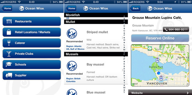 Ocean Wise App