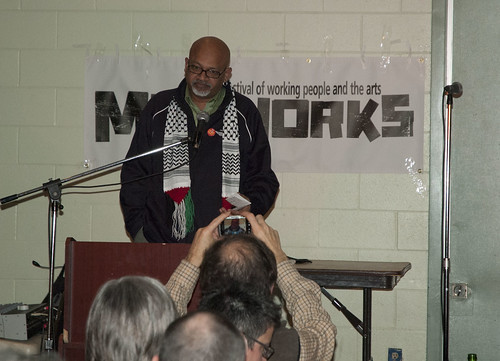 'Labour Activist Award' recipient Frank Saptel | by Mayworks Festival of Working People and the Arts