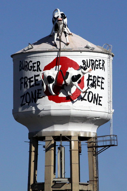 Burger Free Zone - Chik-Fil-A Water Tower