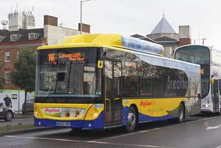 Anglianbus MAN EcoCity 601 WX62HHP (c) David Bell