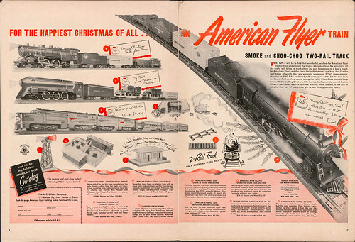 For The Happiest Christmas Of All...An American Flyer Train