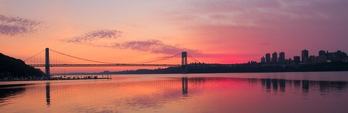 Sunrise over GWB