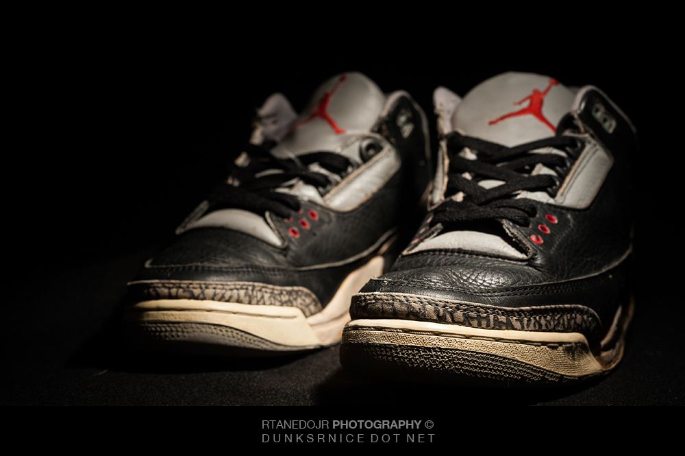 1988 Black Cement III's.