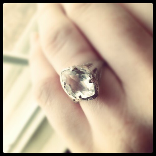 Happy #vintage anniversary ring via @seanhagarty 's great taste. #14years of love, forgiveness, and blessings.
