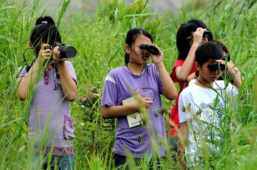鹿角溪的生態攝影 攝影:謝基煌
