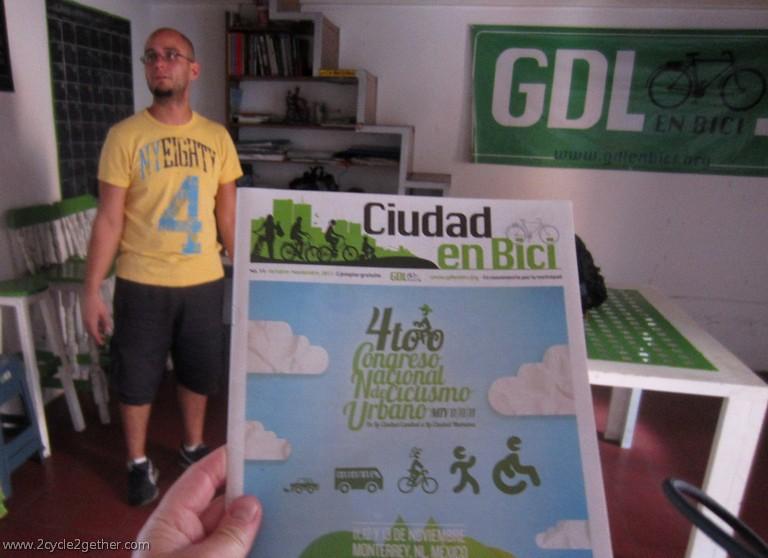 Jorge, Ciudad en Bici magazine, Casa Ciclista