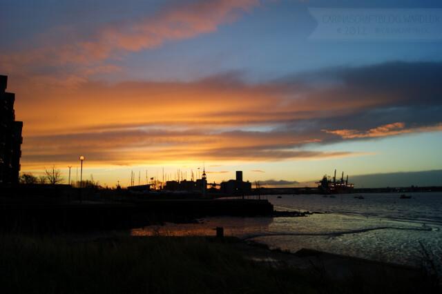 Sunrise, December 7, 2012 - 7