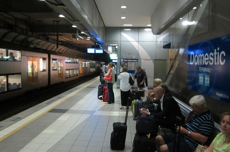 Sydney: Domestic airport station