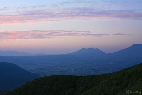 daybreak Aso Valley