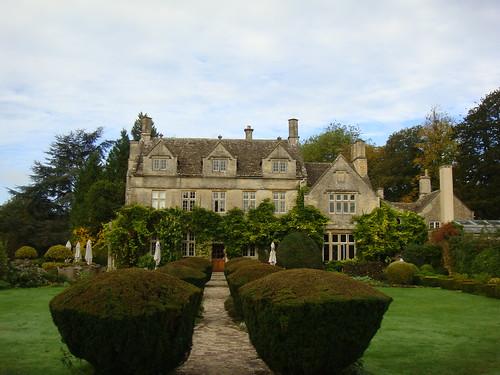 Vista de los jardines y de la Main House