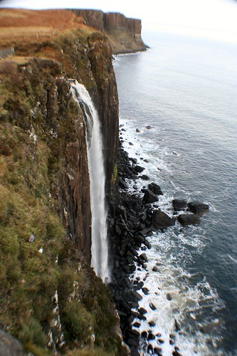 Kilt Rock and Waterfall, Skye