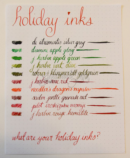Holiday Inks