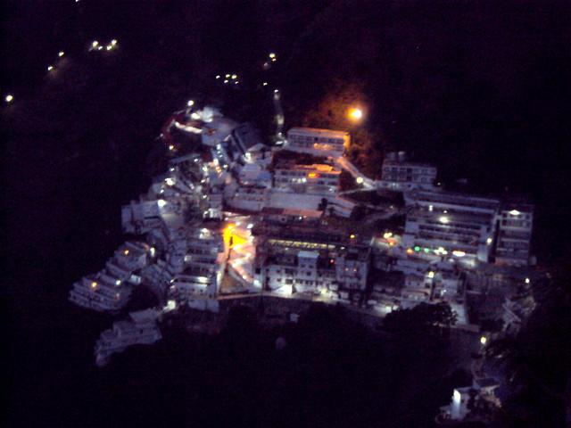Exact Location of the Vaishno Devi Mandir (Temple)