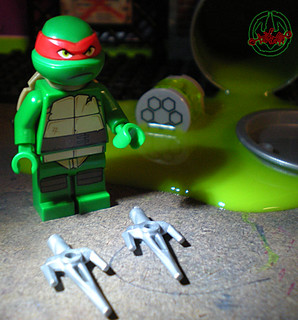 "LEGO Teenage Mutant Ninja Turtles :: ""Stealth Shell in Pursuit"" ; Raphael ii (( 2013 ))"