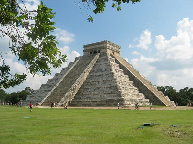 Ruínas da cidade maia de Chichén Itzá