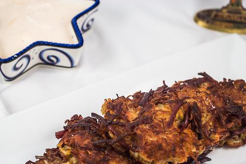 Corned Beef Hash Latkes
