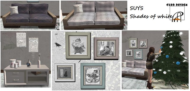 CLEO DESIGN-SUYS Shade of whites