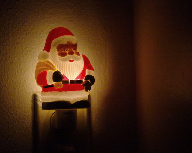 Santa Night Light 02