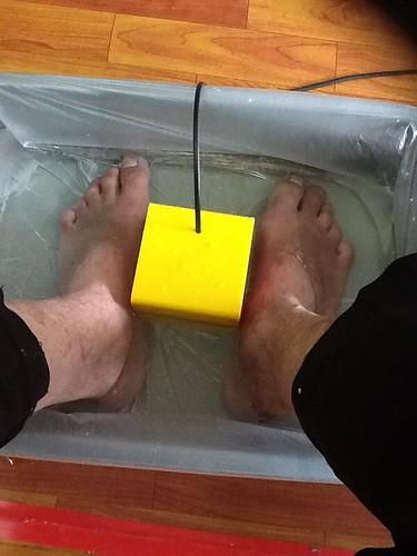 Rendam kaki 1