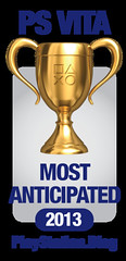 PS.Blog Game of the Year 2012 - PS Vita Most Anticipated Gold