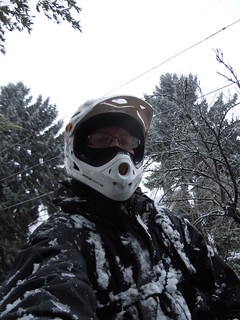 SoulRider.222, first Portland snow, riding to work