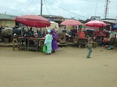 Street market, Lagos, Nigeria.