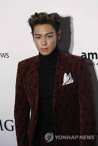 TOP - amfAR Charity Event - Red Carpet - 14mar2015 - Yonhap News - 02