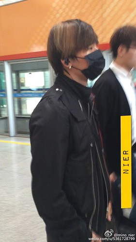 Big Bang - Beijing Airport - 05jun2015 - Dae Sung - mino_nier - 01