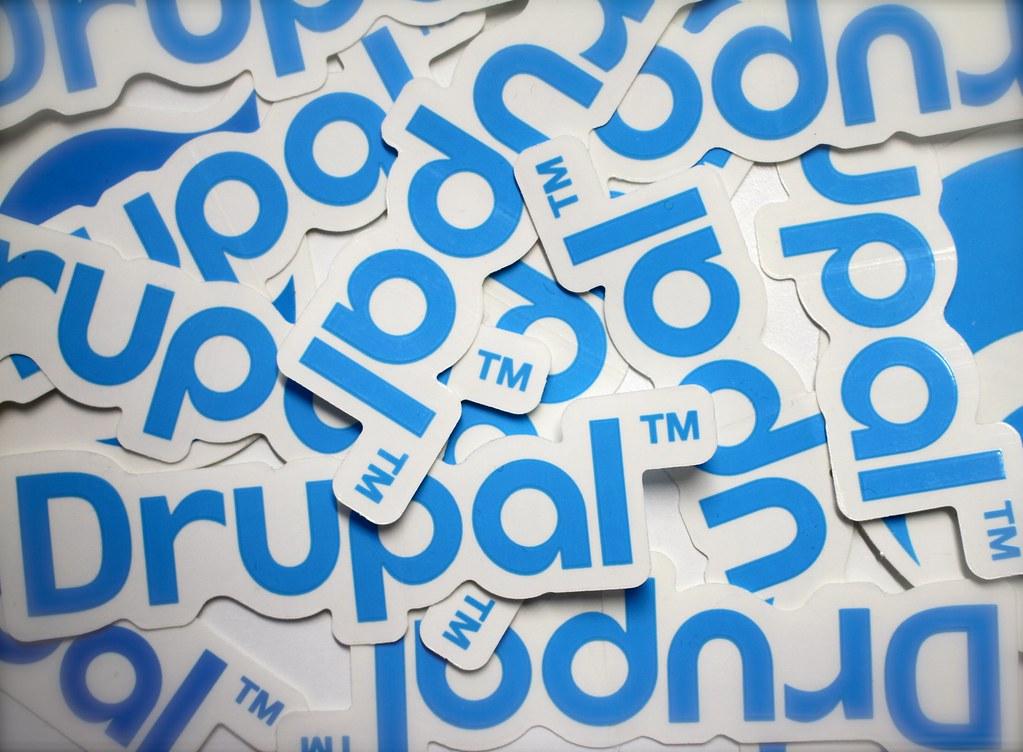 Logotipo Drupal CMS