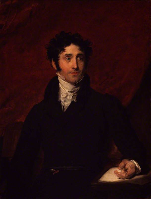 Thomas Campbell by Thomas Lawrence, 1820