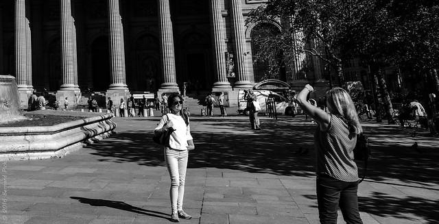 Photo souvenir. Paris, sept 2016